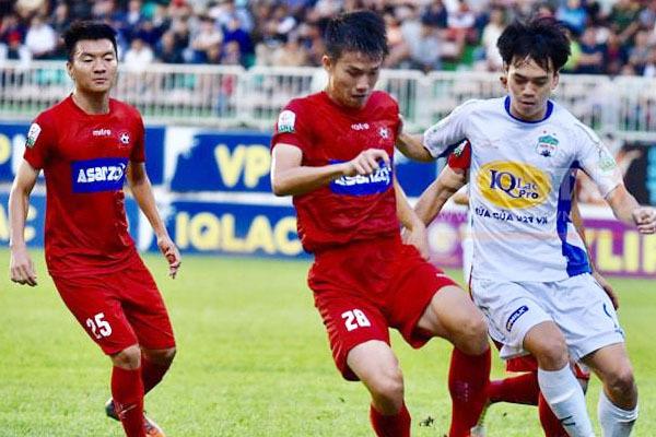 HAGL chia điểm cùng Hải Phòng ở vòng 7 V.League