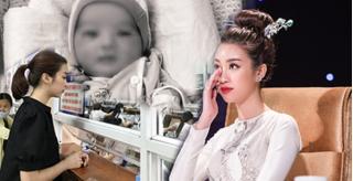 Đỗ Mỹ Linh, Lương Thuỳ Linh tỏ lòng tiếc thương khi biết em bé bị bỏ rơi ở hố gas đã qua đời