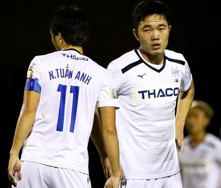 Tuấn Anh, Xuân Trường không được thi đấu ở vòng 7 V.League
