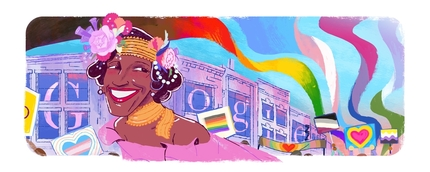 Google Doodle hôm nay 30/6/2020: Tôn vinh Marsha P. Johnson
