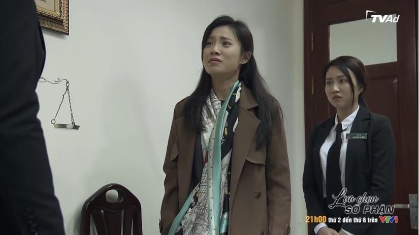 'Lựa chọn số phận' tập 10: Xuân đến tận tòa cầu cứu Cường để ly hôn