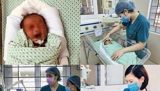 Xót xa hành trình 21 ngày nỗ lực chiến đấu với tử thần của bé sơ sinh bị bỏ rơi dưới hố gas