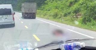 Xe tải va chạm với xe máy, nam thanh niên tử vong tại chỗ