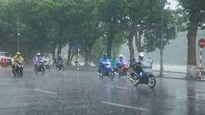 Tin tức thời tiết ngày 2/72020: Các khu vực trên cả nước có mưa rào và dông