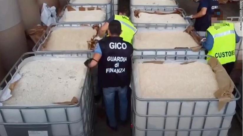 Tin tức thế giới 2/7, Italy thu giữ lượng ma túy tổng hợp lớn nhất thế giới