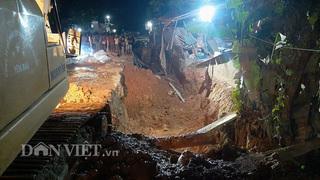 Sập tường rào ở Yên Bái, 4 công nhân thương vong