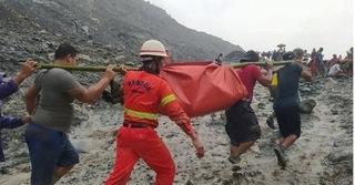 Sạt lở mỏ ngọc bích ở Myanmar, hơn 100 người bị chôn vùi