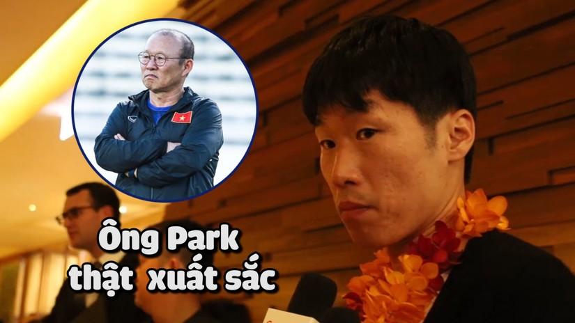 Park Ji Sung chọn HLV Park Hang Seo vào đội bóng trong mơ