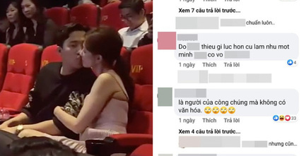 Hôn nhau ở rạp phim, Trấn Thành - Hari Won bị chỉ trích gay gắt