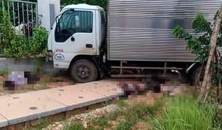Danh tính 2 thanh niên tử vong vụ xe máy 'kẹp 3' tông xe tải