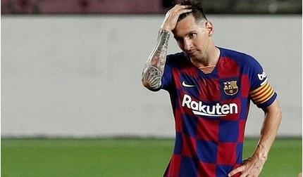Tiền đạo Messi sắp chia tay CLB Barcelona?