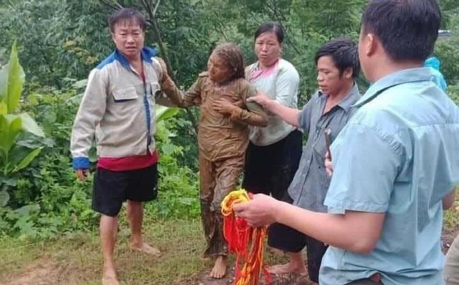 Sạt lở taluy dương, người phụ nữ ở Lai Châu bị vùi lấp