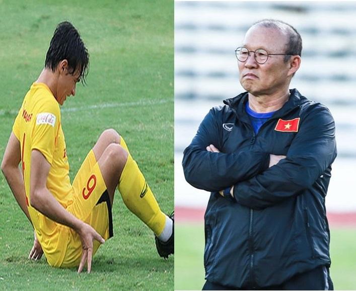 Tiền vệ Việt kiều Pháp Tiêu Exal  gặp chấn thương