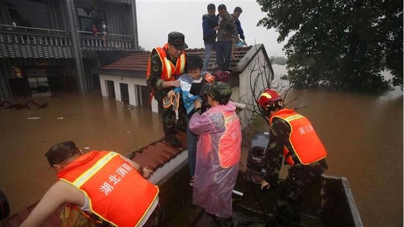 Hơn 100 người chết trong thảm họa thiên nhiên lũ lụt tại Trung Quốc