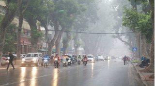 Tin tức thời tiết ngày 5/7/2020: Hà Nội và các tỉnh miền Bắc có mưa rào và giông rải rác.