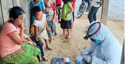 Bé trai 4 tuổi mắc bạch hầu đầu tiên ở Gia Lai đã tử vong