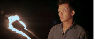 Võ sư Vịnh Xuân Quyền - Peter Phạm lần đầu tiên xuất hiện trên màn ảnh Việt