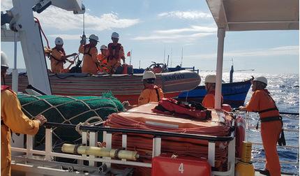 Cứu thuyền viên bị viêm ruột thừa cấp nguy kịch trên biển