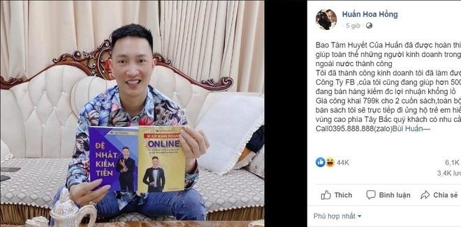 Xuất bản sách lậu, Huấn 'hoa hồng' bị phạt 17,5 triệu đồng