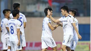 Bảng xếp hạng V.League: HAGL thăng tiến, DNH Nam Định xếp cuối