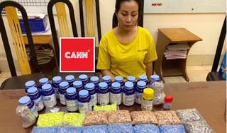 Hà Nội bắt 'nữ quái' mua bán gần 11.0000 viên ma túy