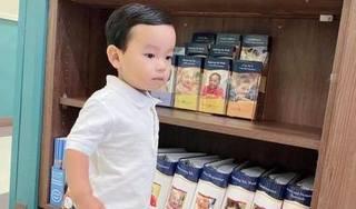 Phạm Hương khoe ảnh con trai ăn diện chỉn chu ngày đầu đi học