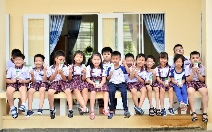 Sữa học đường TP. Hồ Chí Minh, chương trình nhân văn đem lại nhiều niềm vui cho con trẻ