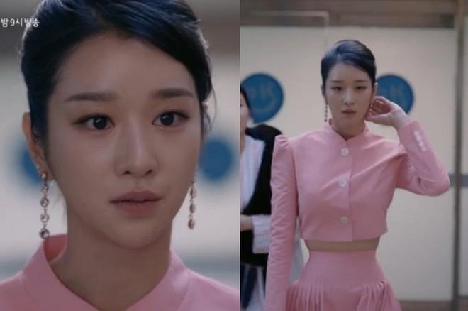 Cận cảnh vòng eo 46cm của Seo Je Jin trong 'Điên thì có sao' khiến Ngọc Trinh phải ghen tị