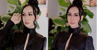 Lynk Lee tự tin diện váy xẻ ngực táo bạo, đổi style quyến rũ