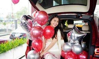 Mừng sinh nhật tuổi 30, Ngọc Thảo vừa mua nhà vừa tậu thêm xế hộp bạc tỷ