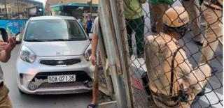 Danh tính tài xế ô tô kéo lê Trung úy CSGT trên đường phố Hà Nội