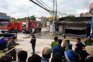 3 người chết cháy trong tiệm cầm đồ giữa ban ngày
