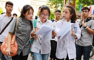 Đề thi và đáp án môn Toán tuyển sinh lớp 10 ở Hà Nội năm 2019
