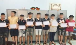 Truy bắt nhóm học sinh lớp 9 vác mã tấu hỗn chiến ở Đồng Nai