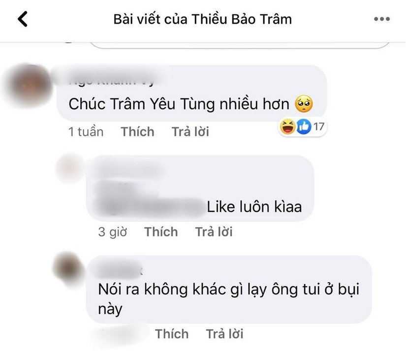 Thiều Bảo Trâm có động thái ngầm công khai đang hẹn hò với Sơn Tùng M-TP?