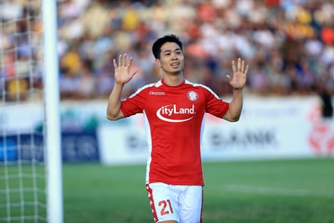 Công Phượng dẫn đầu Top nội binh xuất sắc nhất V.League sau vòng 8