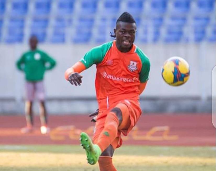 Hậu vệ Kasongo Kalonda
