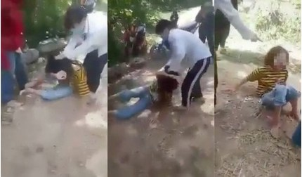 Xử phạt hai nữ sinh đưa bạn vào rừng đánh hội đồng