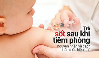Trẻ sốt sau khi tiêm phòng - nguyên nhân và cách chăm sóc hiệu quả