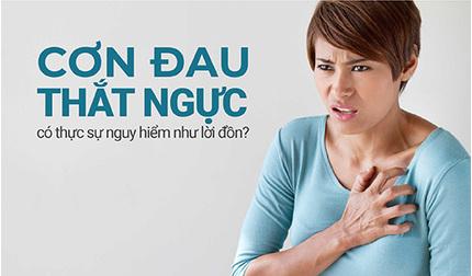 Cơn đau thắt ngực có thực sự nguy hiểm như lời đồn?