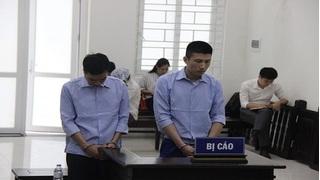 Tuyên án 2 cựu cán bộ công an huyện nhận hối lộ 150 triệu đồng