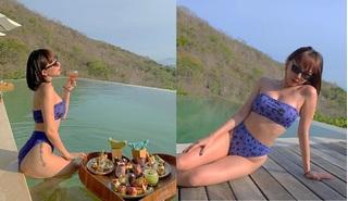Tóc Tiên tung ảnh bikini gợi cảm, khoe body siêu nóng bỏng