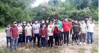 Bắt giữ 33 đối tượng nhập cảnh trái phép vào Quảng Ninh