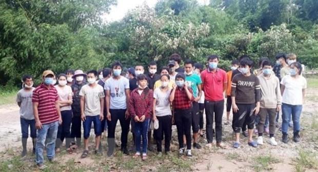 Bắt giữ và cách ly 33 đối tượng nhập cảnh trái phép tại Quảng Ninh