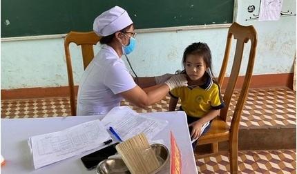 Gần 5 triệu dân tại 4 tỉnh Tây Nguyên được tiêm vắc xin phòng bạch hầu