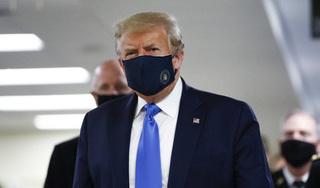 Tổng thống Trump đã chịu đeo khẩu trang để phòng Covid-19