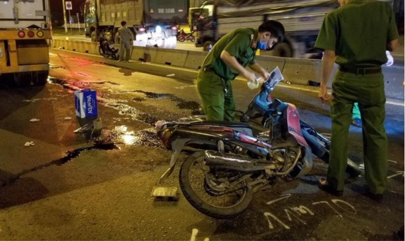 Chạy xe vào làn đường cấm, một người tử vong tại chỗ