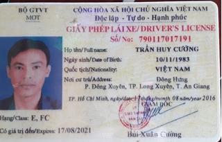 Tài xế xe khách mua GPLX ô tô trên mạng với giá 3 triệu đồng để hành nghề