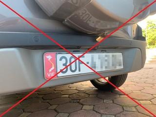 Xử lý những ô tô dán bản đồ Việt Nam thiếu Hoàng Sa, Trường Sa