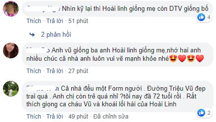 Dương Triệu Vũ đăng ảnh bố mẹ và anh trai Hoài Linh, fan trầm trồ vì quá giống nhau